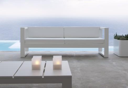 Muebles exterior aluminio